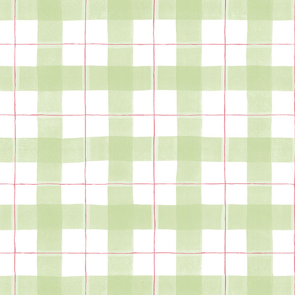 green and pink plaid wallpaper wallcovering