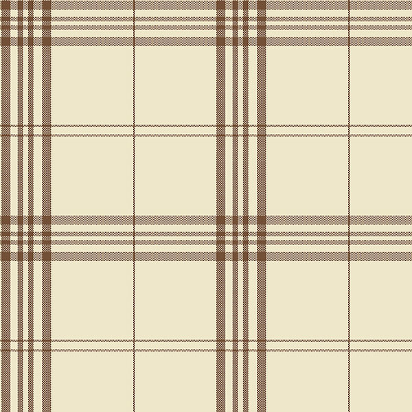 brown and beige plaid wallcovering