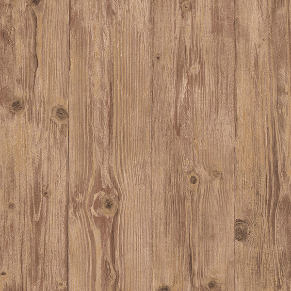 brown wood grain planks wallcovering