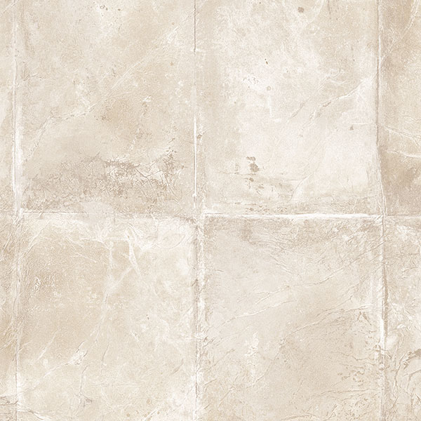 Taupe and beige tile wallcovering