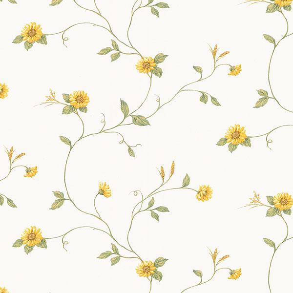 Mini sunflower trail wallpaper
