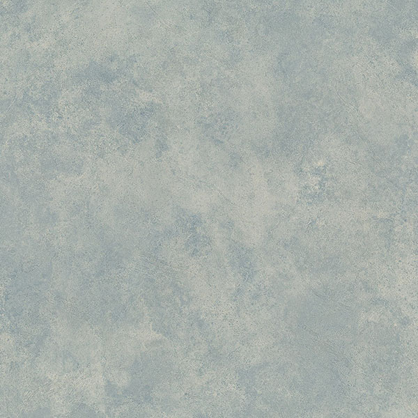 light reflective damask texture in blue and beige wallcovering