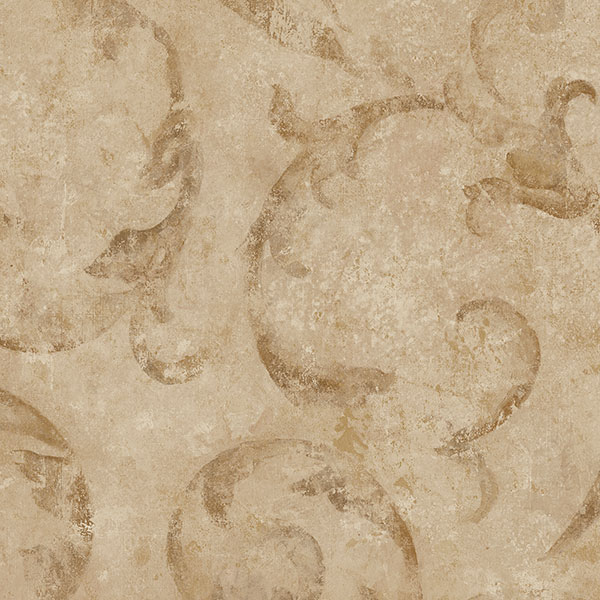 brown architectural wallcovering