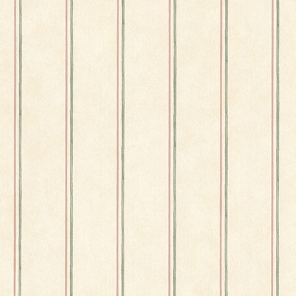 beige red and green stripe wallpaper wallcovering