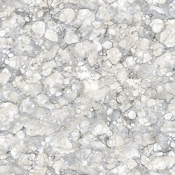 Grey and beige granite texture wallcovering